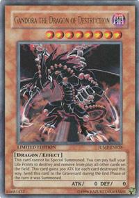 Gandora the Dragon of Destruction - JUMP-EN028 - Ultra Rare - Limited Edition