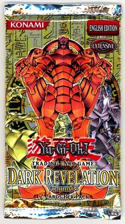 Yu-Gi-Oh Dark Revelation Volume #3 Unlimited Booster Pack