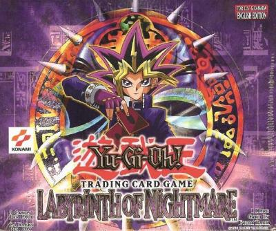 Yu-Gi-Oh Labyrinth of Nightmare Unlimited Booster Box (24 Packs)