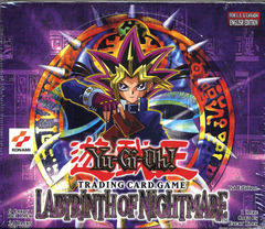 Labyrinth of Nightmare 1st Edition Booster Box (24 packs)