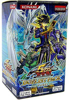 Yu-Gi-Oh Duelist Pack 8: Yusei Fudo 1st Edition Booster Box