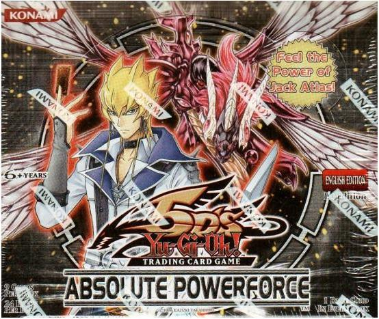 Yu-Gi-Oh Absolute Powerforce 1st Edition Booster Box