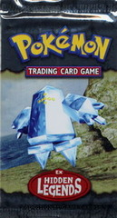 Pokemon EX Hidden Legends Booster Pack