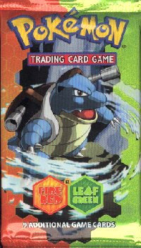 EX Fire Red And Leaf Green Booster Pack