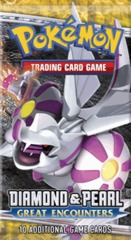 Pokemon Diamond and Pearl: Great Encounters Booster Pack