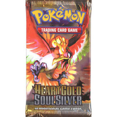 Pokemon Heartgold Soulsilver Base Set Booster Pack