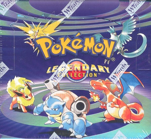 Pokemon Legendary Collection Booster Box