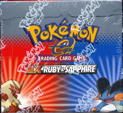 EX Ruby And Sapphire Booster Box