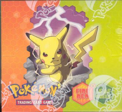 EX Fire Red And Leaf Green Booster Box