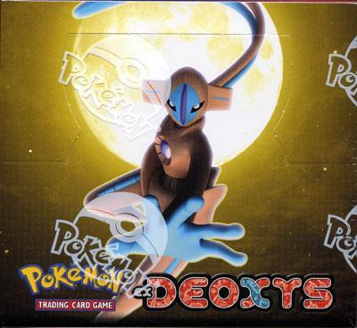 Pokemon EX Deoxys Booster Box
