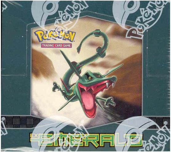 Pokemon EX Emerald Booster Box