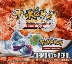 Pokemon Diamond & Pearl: Mysterious Treasures Booster Box