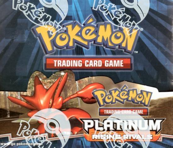 Pokemon Platinum: Rising Rivals Booster Box