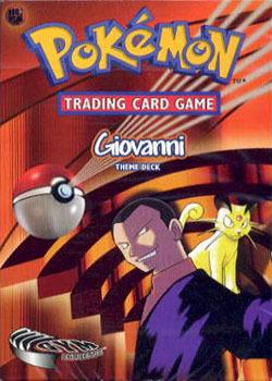 Gym Challenge - Giovanni Theme Deck
