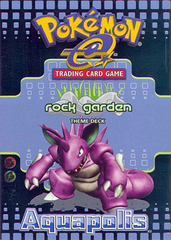 Pokemon Aquapolis - Rock Garden Theme Deck