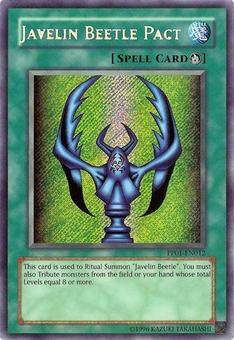 Javelin Beetle Pact - PP01-EN012 - Secret Rare - Unlimited Edition
