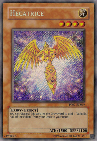 Hecatrice - PP02-EN019 - Secret Rare - Unlimited Edition