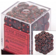 36 Space Speckled 12mm D6 Dice Block - CHX25908