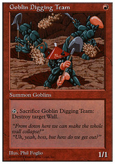 Goblin Digging Team on Channel Fireball