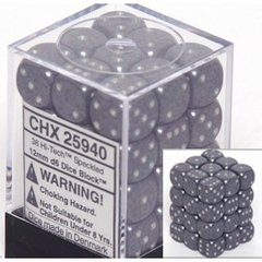 Hi-Tech Speckled 12mm 36 D6 Dice Block - CHX25940
