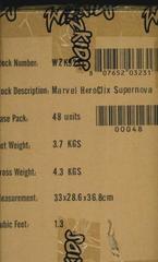 Heroclix Supernova Booster Case of 48 Packs