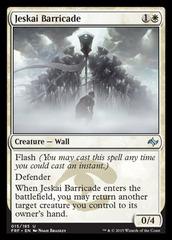 Jeskai Barricade - Foil