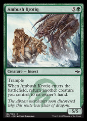 Ambush Krotiq - Foil on Channel Fireball