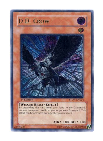 D.D. Crow - Ultimate - STON-EN024 - Ultimate Rare - 1st Edition