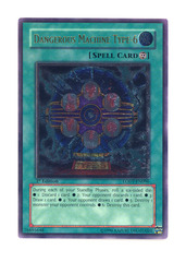 Dangerous Machine Type-6 - LODT-EN096 - Ultimate Rare - 1st Edition