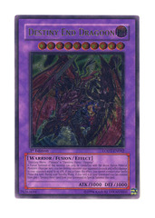 Destiny End Dragoon - LODT-EN042 - Ultimate Rare - 1st Edition