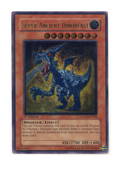 Super-Ancient Dinobeast - LODT-EN088 - Ultimate Rare - 1st Edition