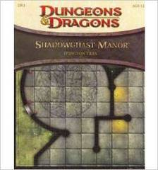 Dungeon Tiles: Shadowghast Manor D&D 4E
