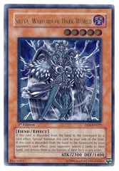 Sillva, Warlord of Dark World - Ultimate - EEN-EN023 - Ultimate Rare - 1st