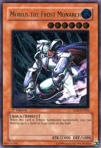 Mobius the Frost Monarch - Ultimate - SOD-EN022 - Ultimate Rare - 1st