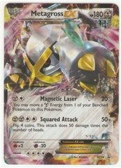 Shiny Metagross-EX - XY34 - Mega Metagross-EX Premium Collection Promo