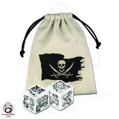 Pirate Dice (2) & Bag