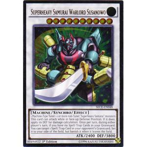 Superheavy Samurai Warlord Susanowo - SECE-EN048 - Ultimate Rare - 1st Edition