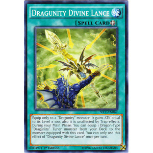 Dragunity Divine Lance - SECE-EN062 - Common - 1st Edition