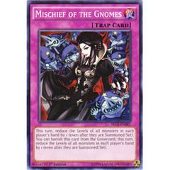 Mischief of the Gnomes - SECE-EN081 - Common - 1st Edition