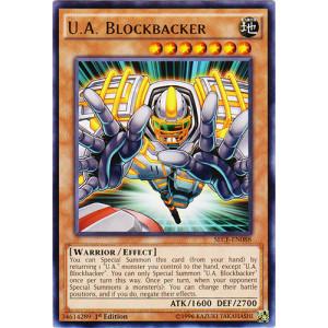U.A. Blockbacker - SECE-EN088 - Rare - 1st Edition