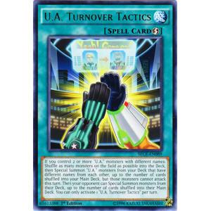 U.A. Turnover Tactics - SECE-EN089 - Rare - 1st Edition
