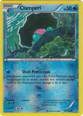 Clamperl - 49/160 - Common - Reverse Holo