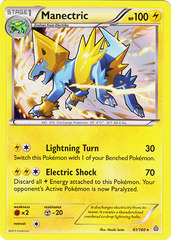 Manectric - 61/160 - Holo Rare