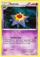 Starmie - 73/160 - Rare on Channel Fireball