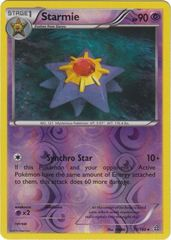 Starmie - 73/160 - Rare - Reverse Holo on Channel Fireball