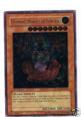 Tytannial, Princess of Camellias - CSOC-EN029 - Ultimate Rare - 1st Edition