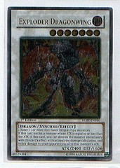 Exploder Dragonwing - Ultimate - RGBT-EN040 - Ultimate Rare - 1st Edition on Channel Fireball