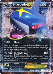 Sharpedo-EX - 91/160 - Holo Rare EX
