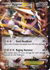 Aggron-EX - 93/160 - Holo Rare EX on Channel Fireball