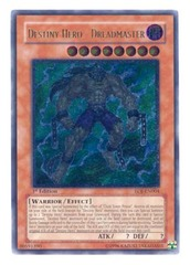 Destiny Hero - Dreadmaster - EOJ-EN004 - Ultimate Rare - 1st Edition